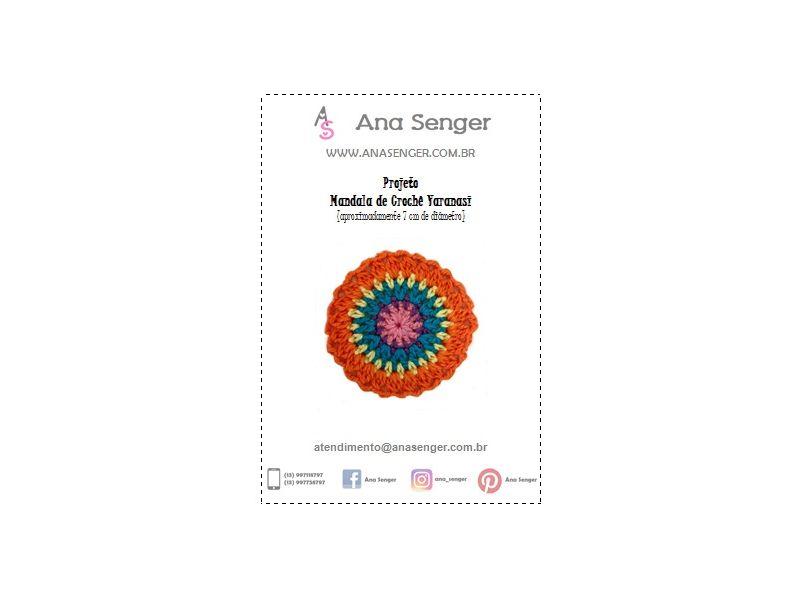 Projeto Mandala de Crochê Varanasi