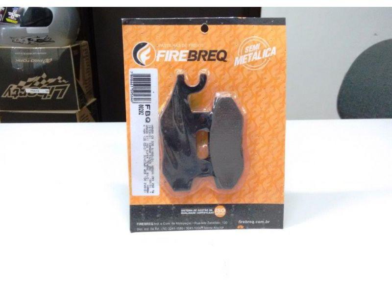 Pastilha De Freio Cb 300 S/ Abs ,  Cbx 250 Twister ,  YBR 125 , FAZER 250 , WEB 100 , SUPER TENERE