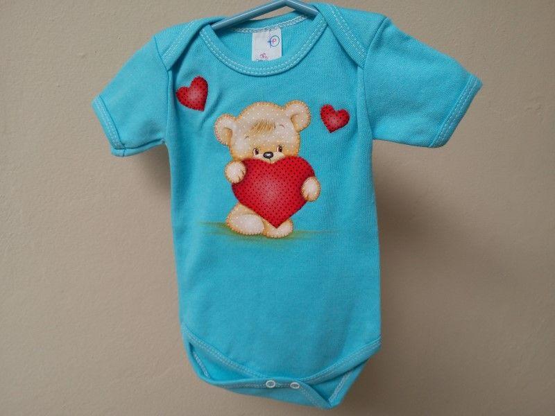 Body para Bebê - Tamanho P (2 a 6 meses)