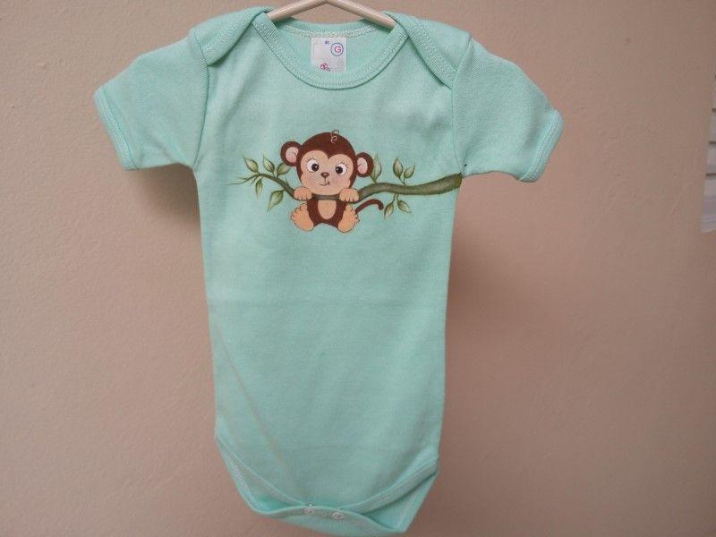 Body para Bebê - Tamanho G (9 a 12 meses)