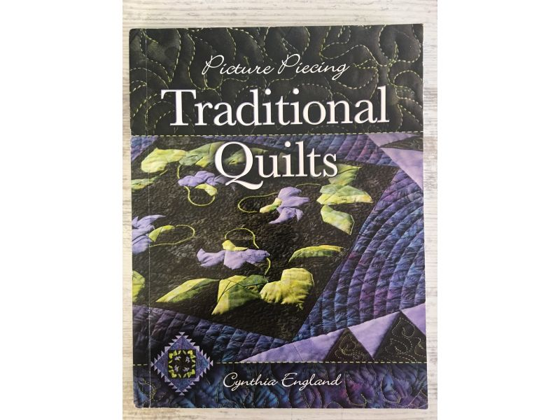 Livro Picture Piecing Traditional Quilts